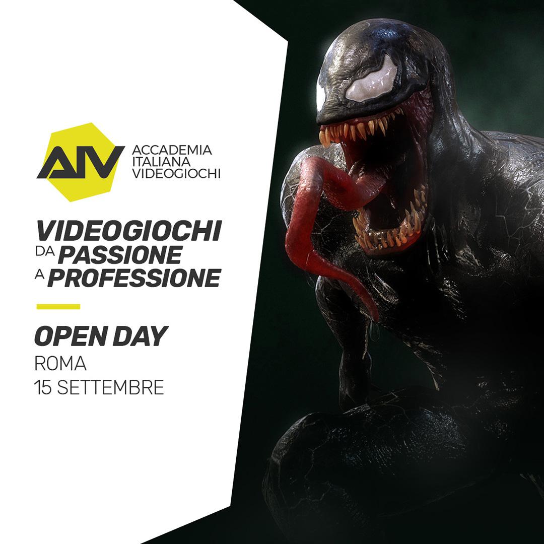 AIV - porte aperte per una full immersion nel mondo dei videogiochi thumbnail