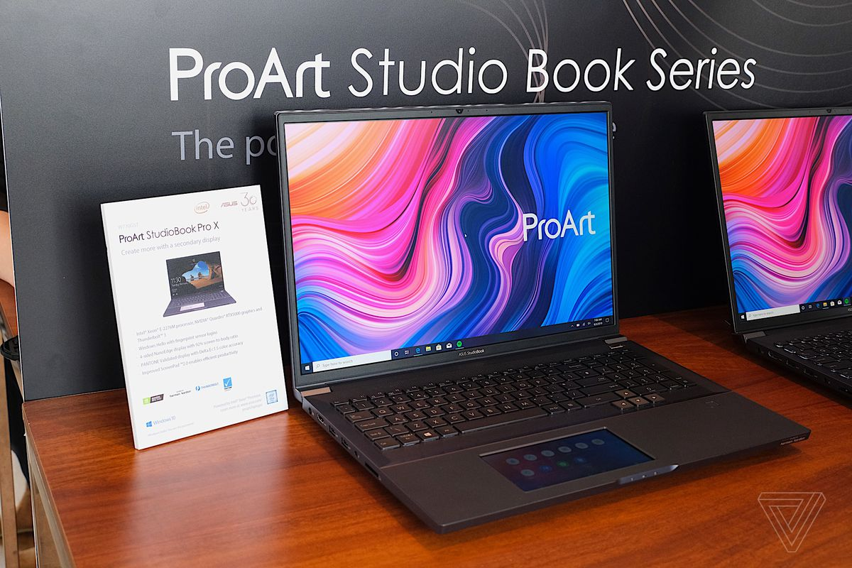 ASUS Proart StudioBook One: la workstation Nvidia più potente al mondo thumbnail