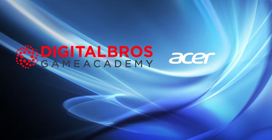 Acer e Digital Bros Game Academy: 5 borse di studio per il nuovo anno thumbnail