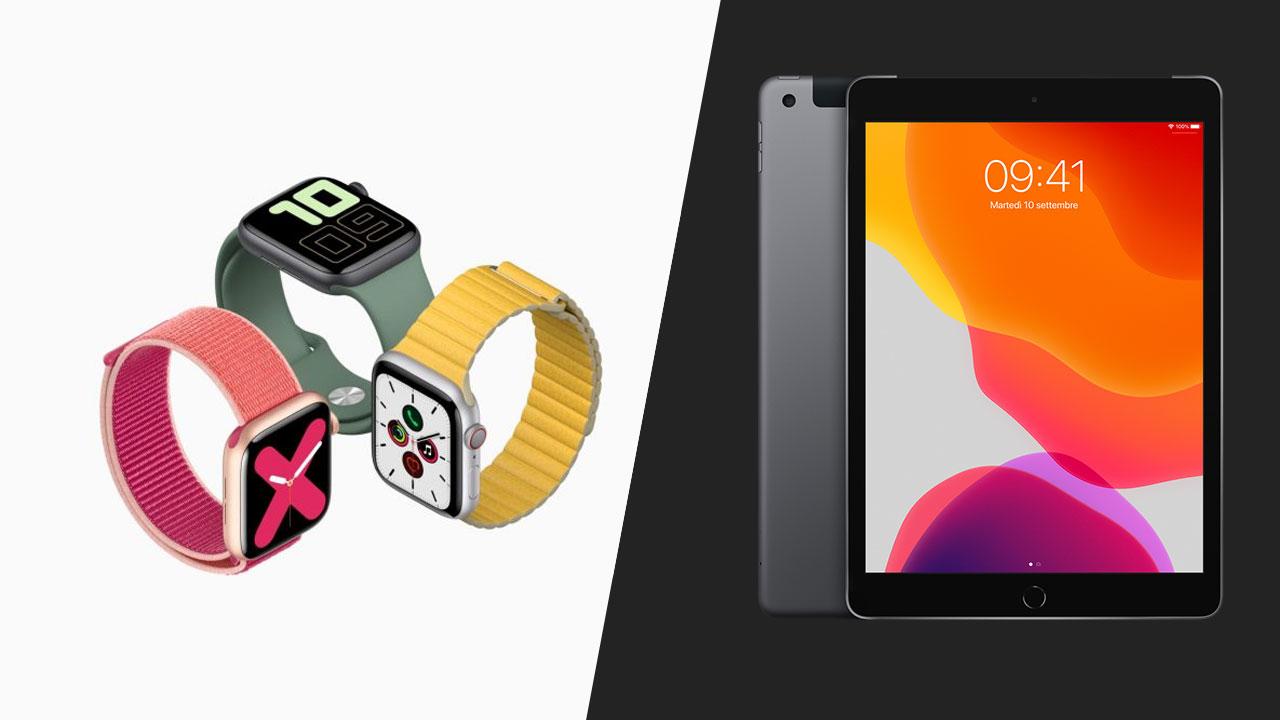 Nuovi Apple Watch 5 ed iPad 7: caratteristiche, prezzi e disponibilità thumbnail