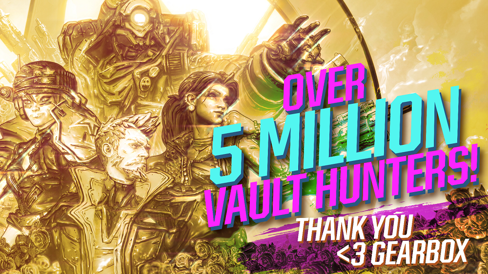 Borderlands 3 record di vendite: 5 milioni di copie in 5 giorni thumbnail