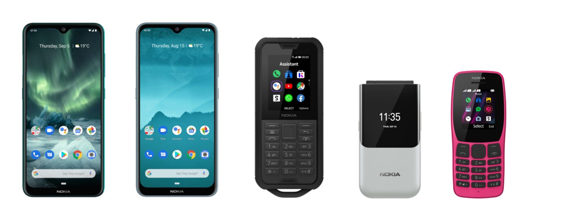 Cinque nuovi telefoni Nokia presentati a IFA 2019 da HMD Global thumbnail