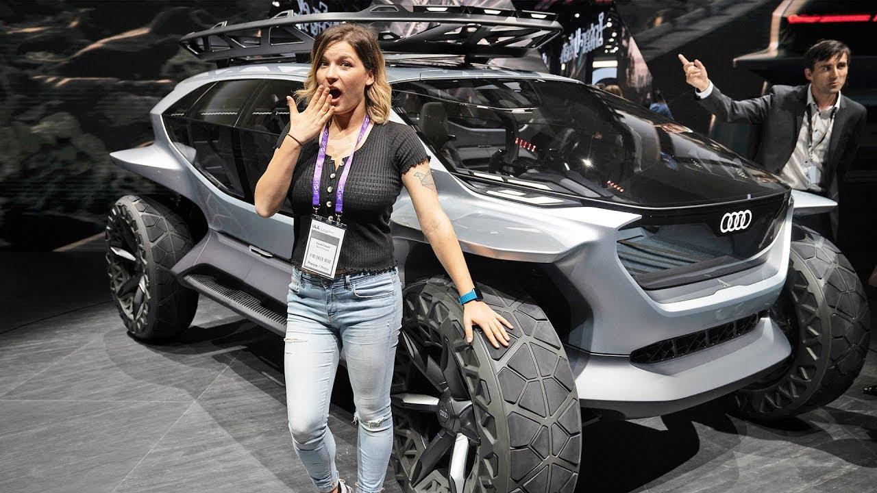 Concept Car 2019: droni al posto dei fari e poltrone rotanti! thumbnail