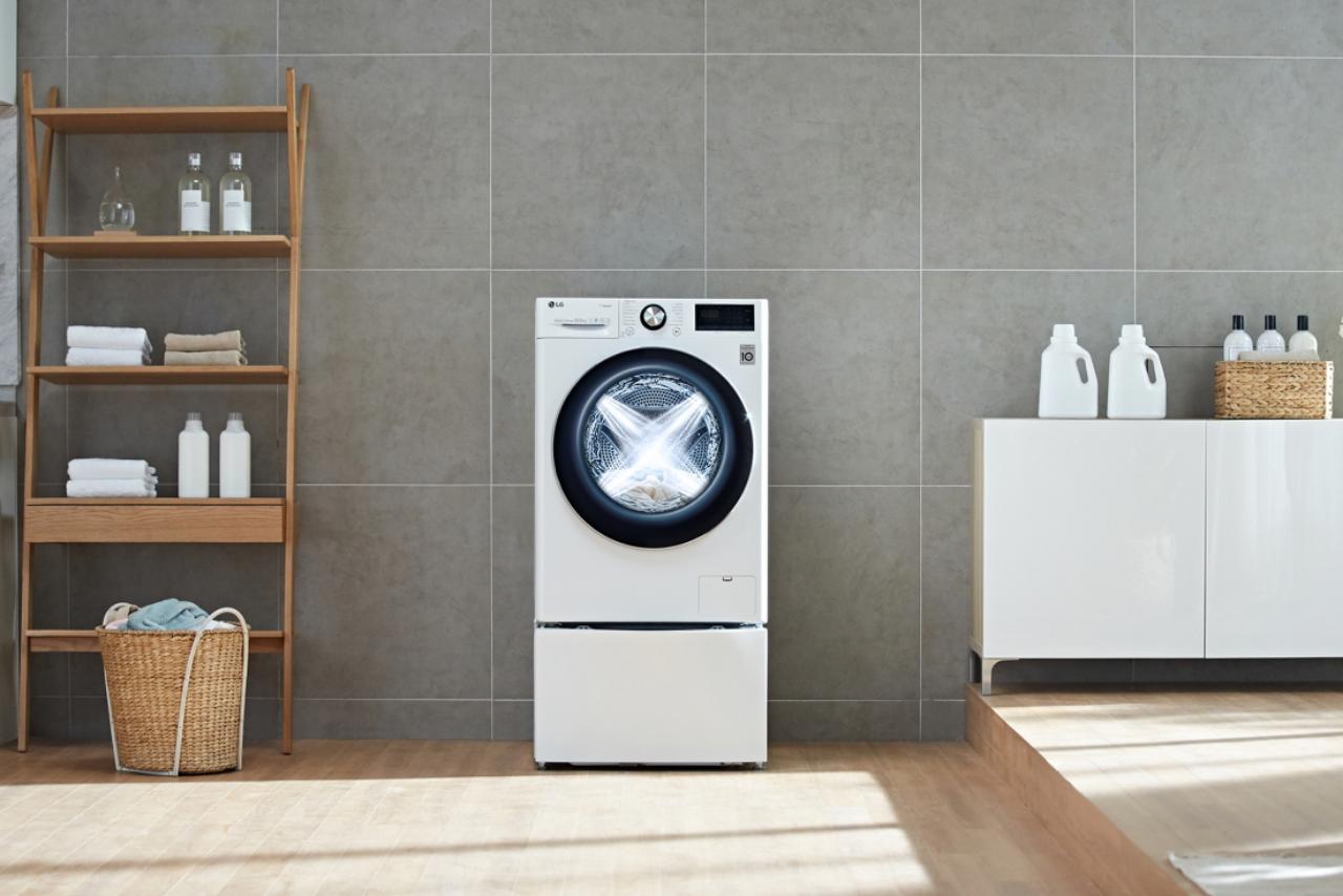 LG AI DD lavatrice