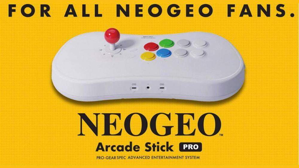 NEOGEO Arcade Stick Pro: un po' console, un po' joystick thumbnail
