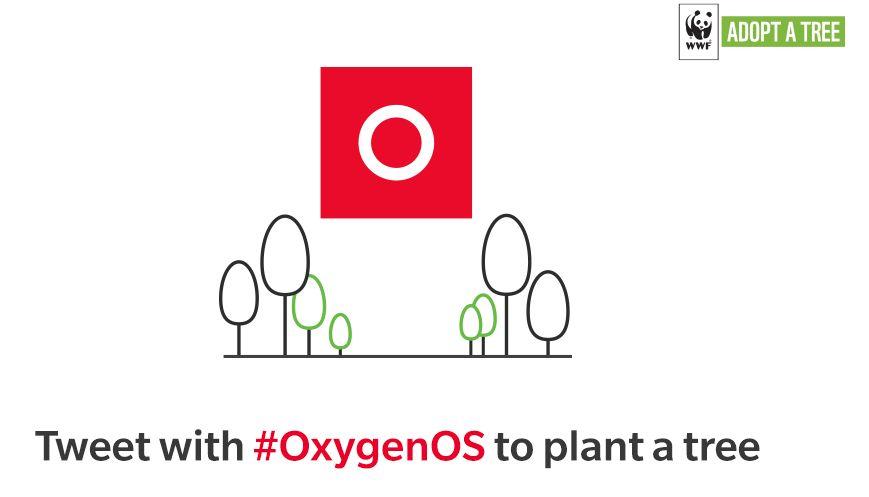 OnePlus celebra 1500 giorni di OxygenOS piantando un albero per ogni tweet #OxygenOS thumbnail