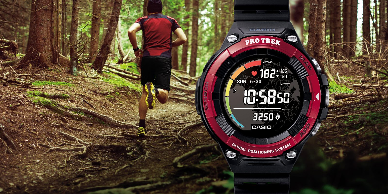 Il PRO TREK Smart WSD-F21HR di Casio è finalmente disponibile thumbnail
