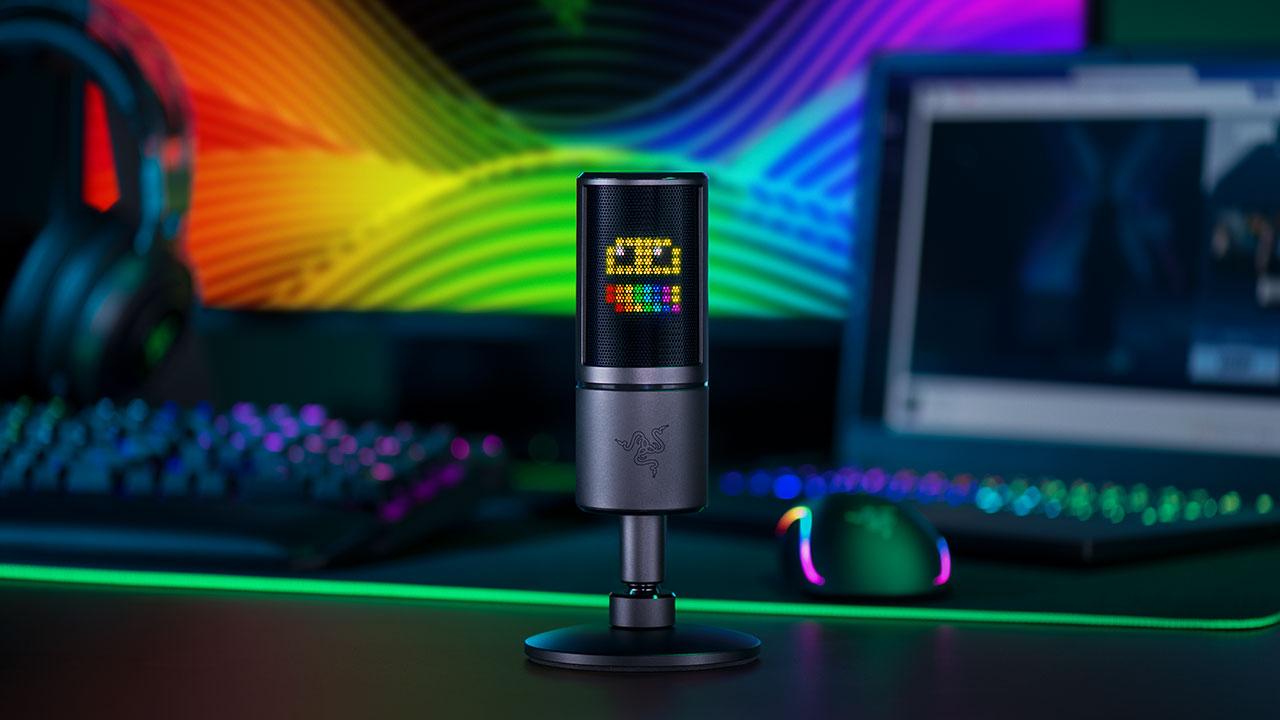 Razer Seiren Emote: il microfono che comunica con i vostri fan thumbnail