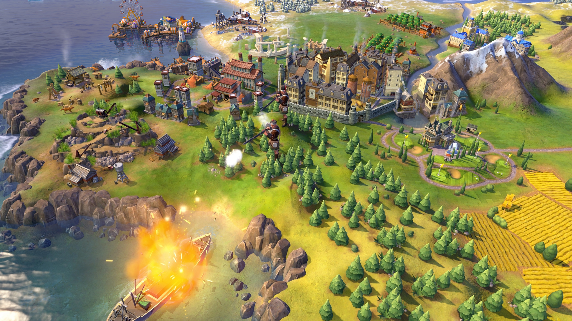 Sid Meier's Civilization VI in arrivo su PlayStation 4 e Xbox One
