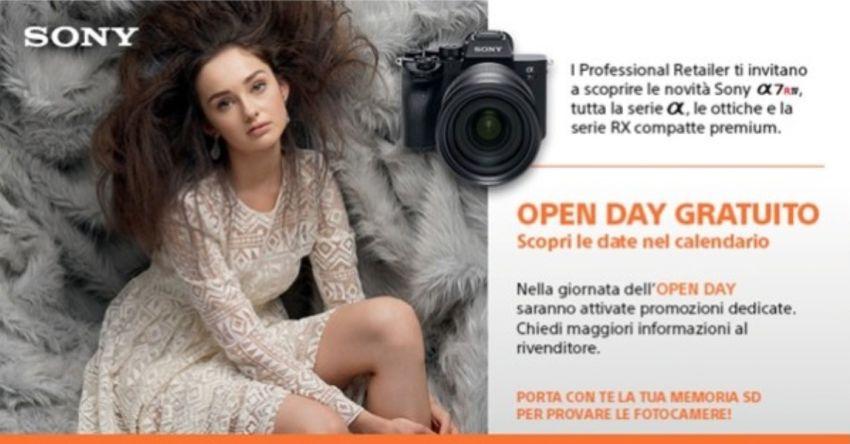 Tornano gli Open Day Sony per appassionati di video e fotografia thumbnail