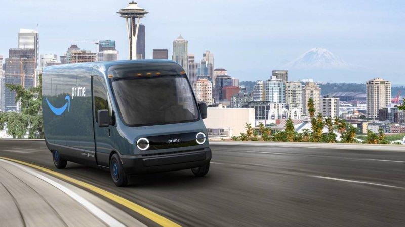 Rivian riceve una commissione da Amazon per 100'000 furgoni elettrici thumbnail
