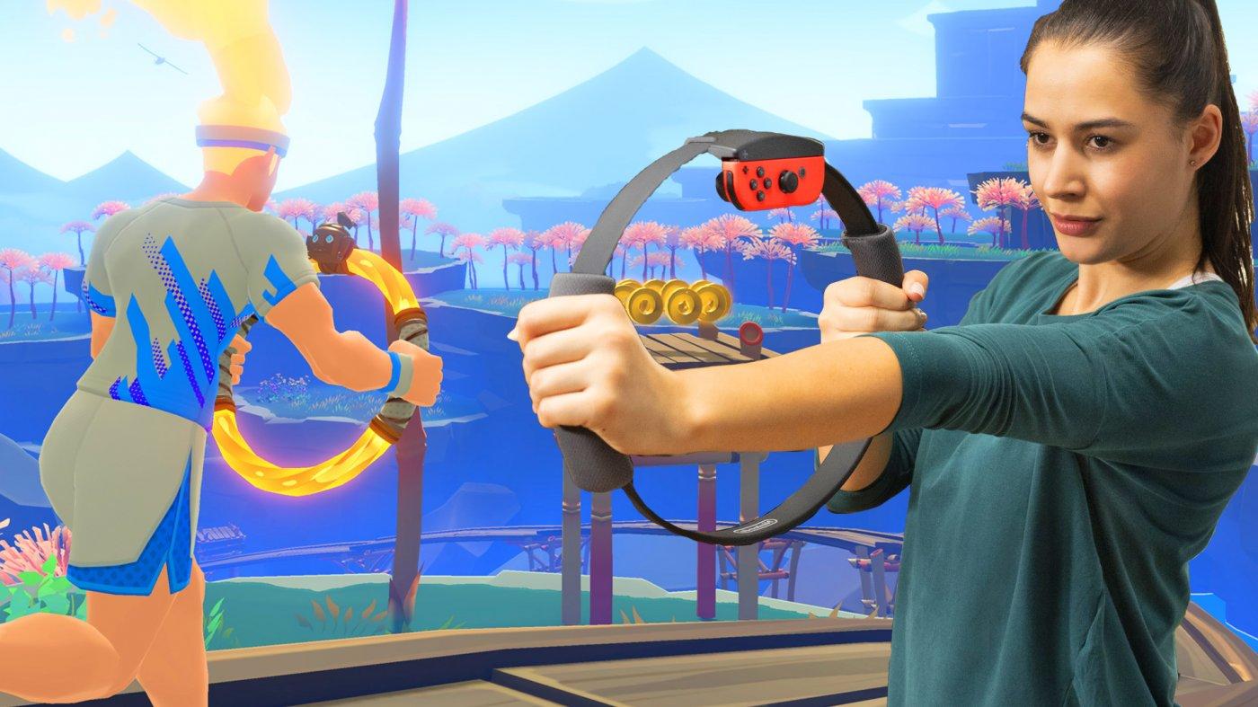 Nuova esperienza su Nintendo Switch: ecco Ring Fit Adventure thumbnail