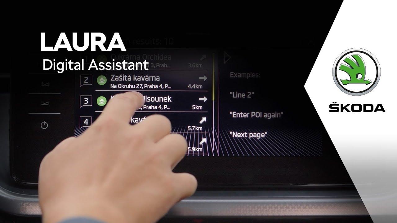 Okay, Laura! Arriva il nuovo Digital Assistant di Skoda thumbnail