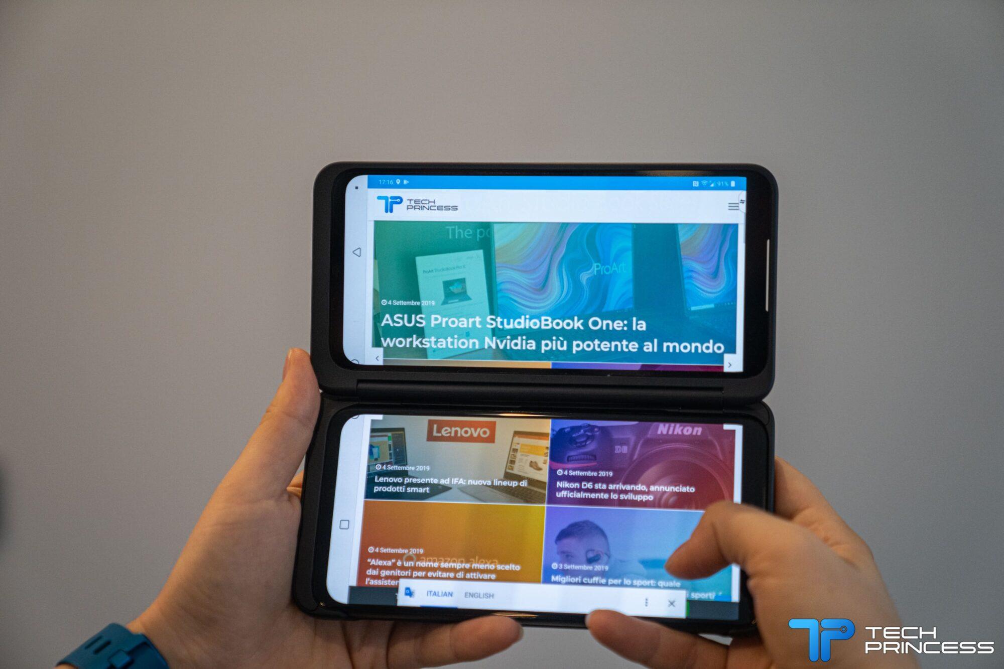 LG G8X ThinQ annunciato ufficialmente, ecco le caratteristiche thumbnail