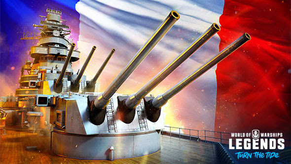 aggiornamento World of Warships: Legends