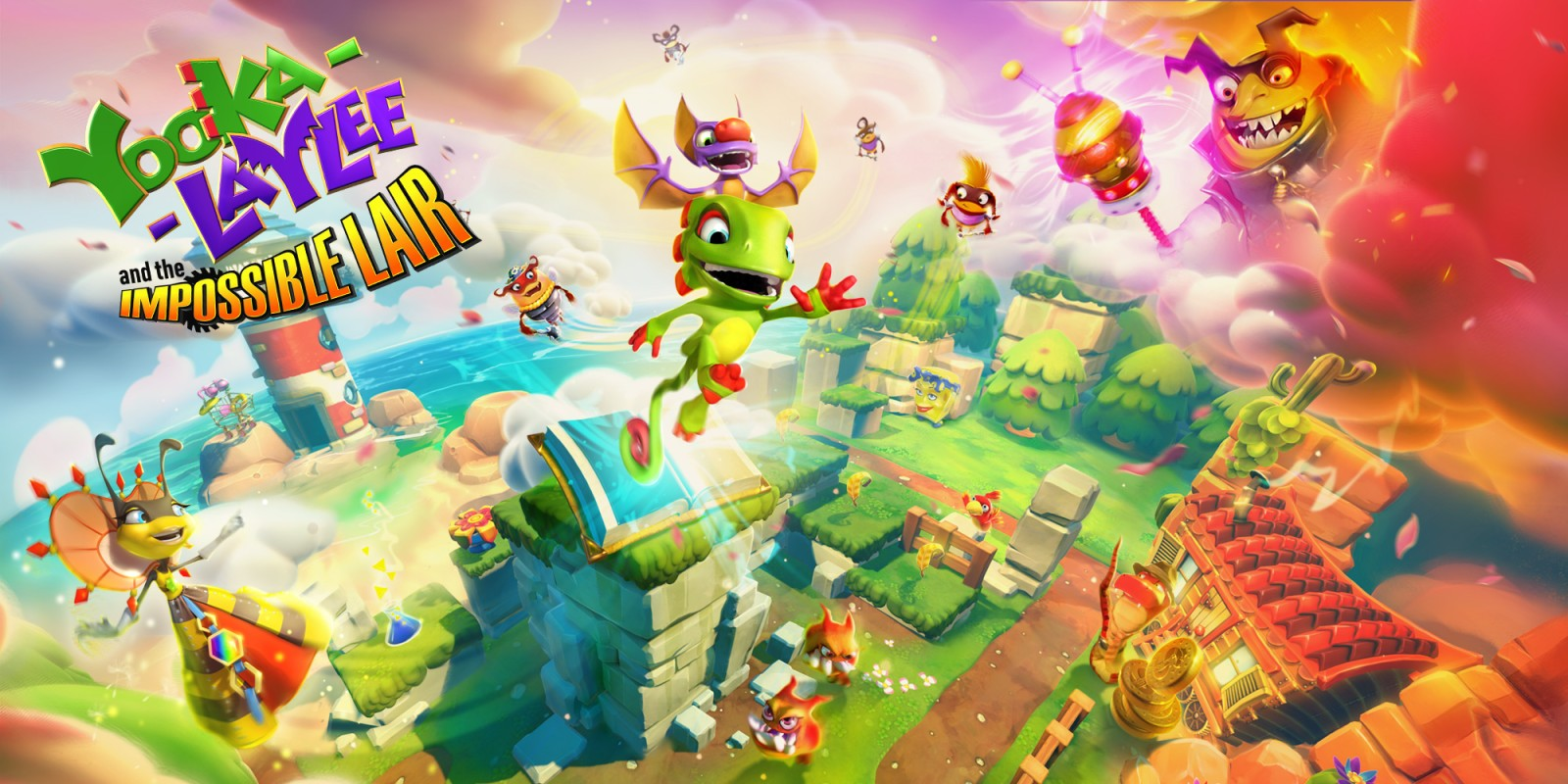 Yooka-Laylee and the Impossible Lair provato: un promettente platform thumbnail