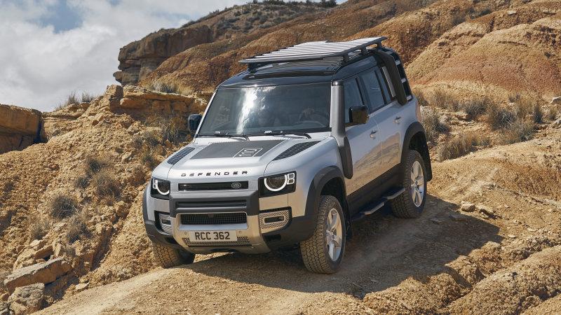 Dai modellini alla realtà: Land Rover Defender introdurrà il controllo remoto thumbnail