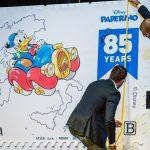 85 anni di Paperino francobollo