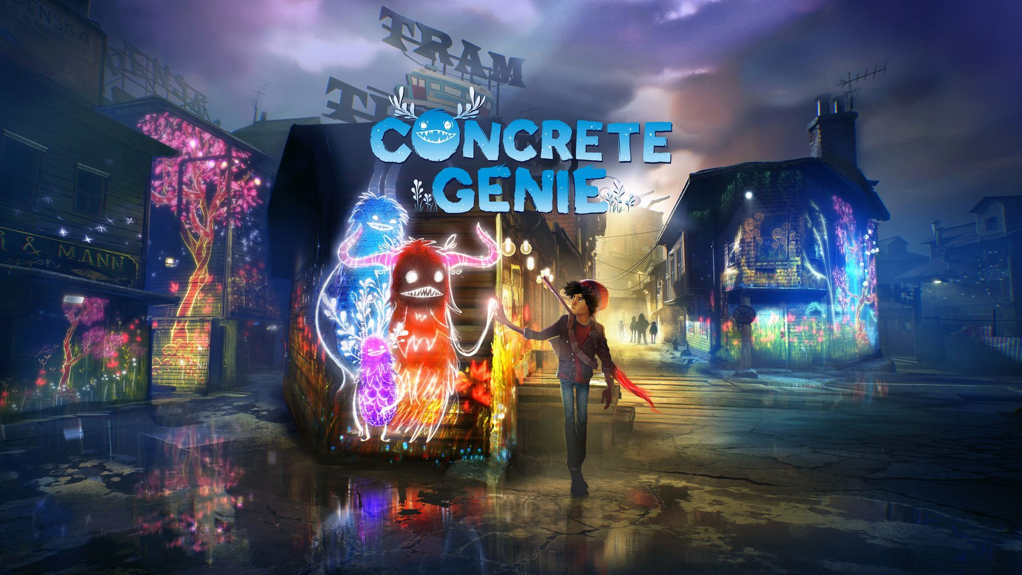 Concrete Genie Tech Princess