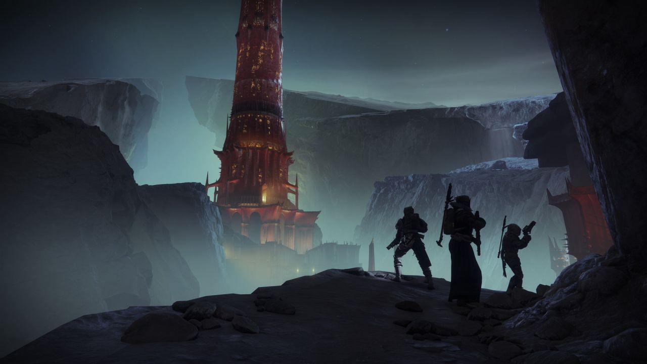 Destiny 2: Ombre dal Profondo torre scarlatta