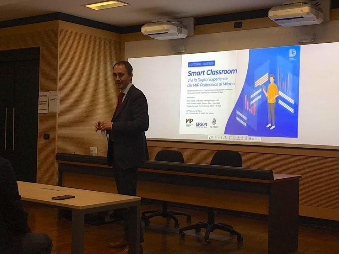 Epson collabora con MIP e RE Mago: creata la prima Smart Classroom thumbnail