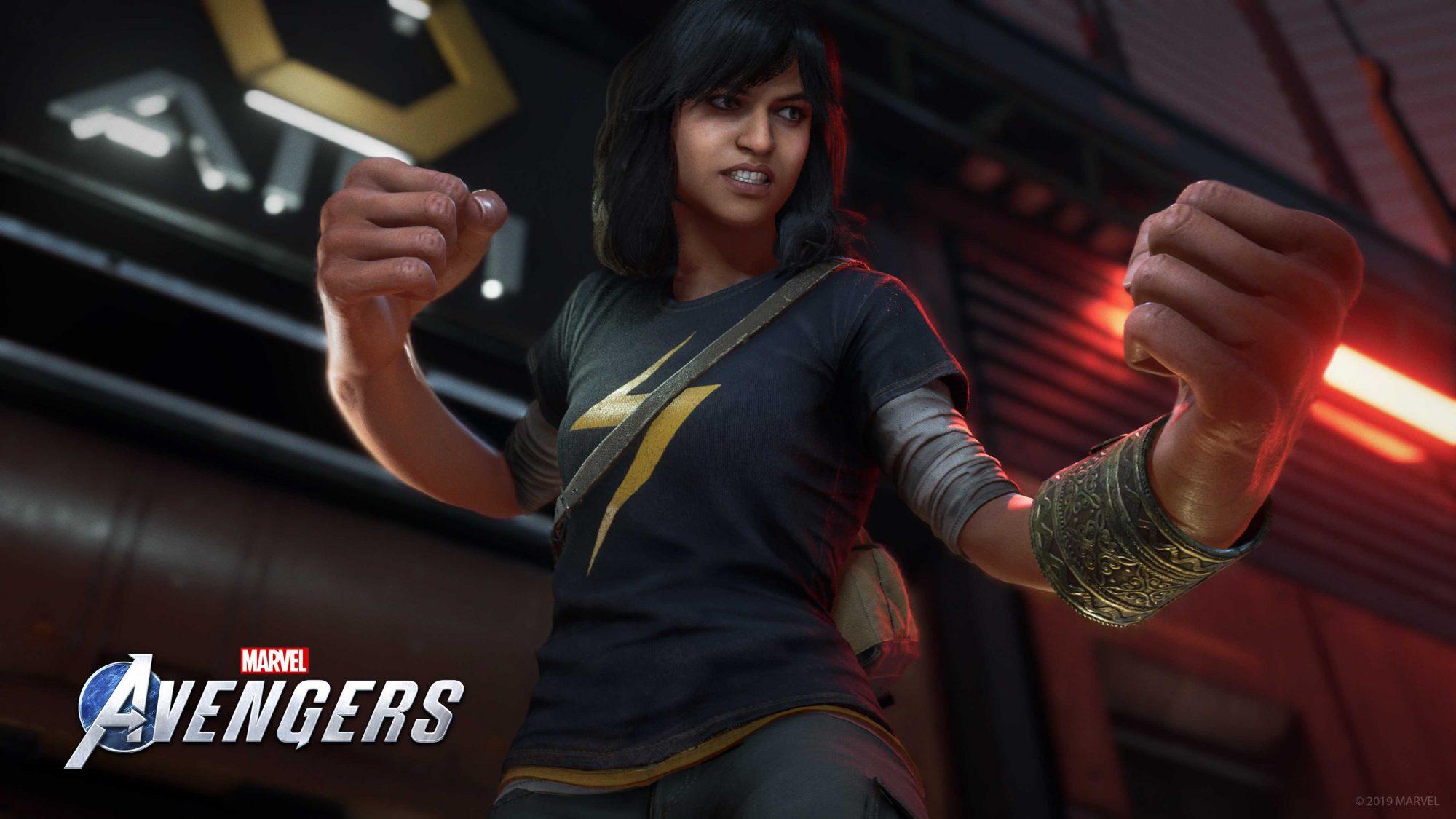 Marvel's Avengers: arriva Kamala Khan nei panni di Ms. Marvel thumbnail