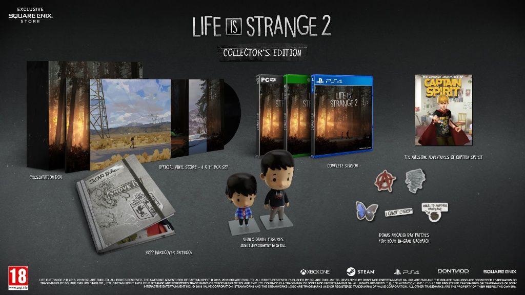 Square Enix annuncia le edizioni fisiche di Life is Strange 2 thumbnail
