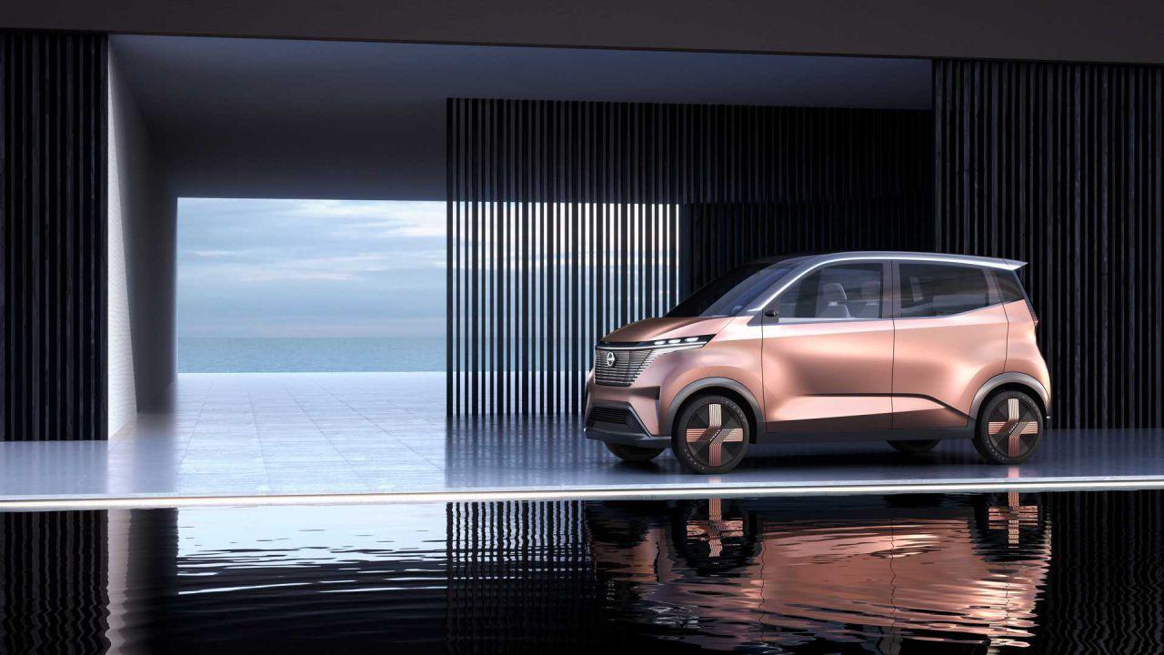 Nissa IMk: zero emissioni per il nuovo concept per la città thumbnail