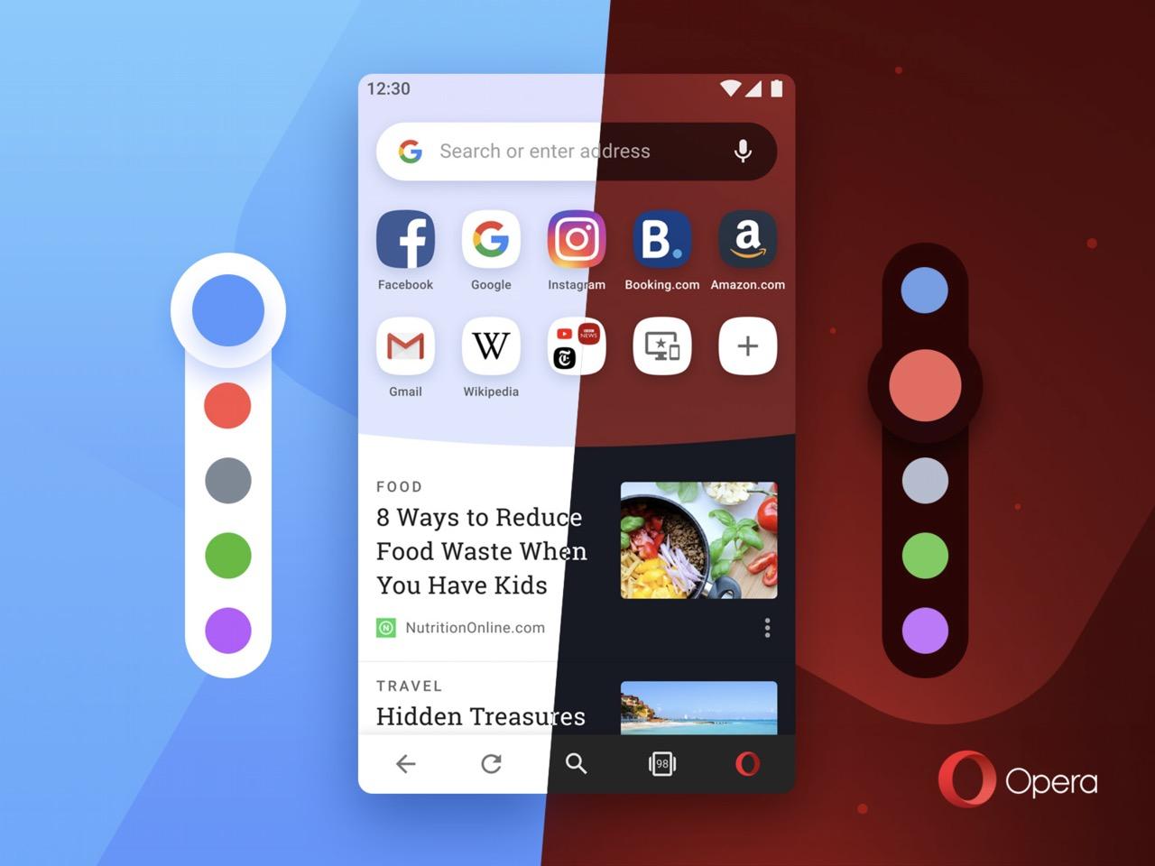 Opera browser a colori: non più solo bianco e nero thumbnail