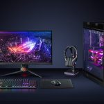 ASUS ROG Throne Qi supporto cuffie