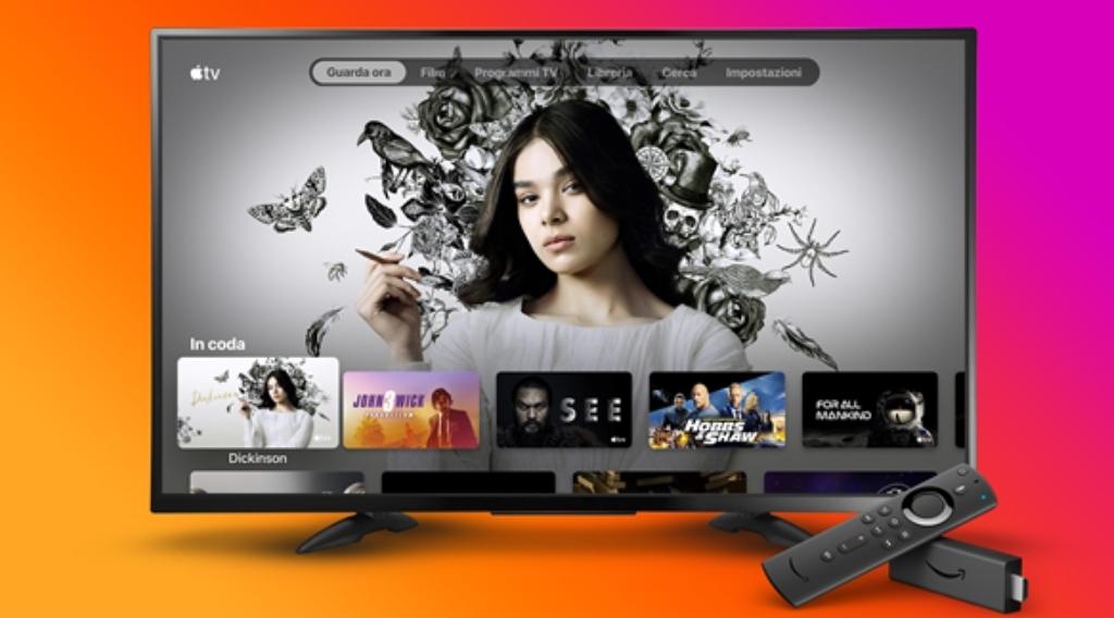 Apple TV disponibile su Amazon Fire TV thumbnail