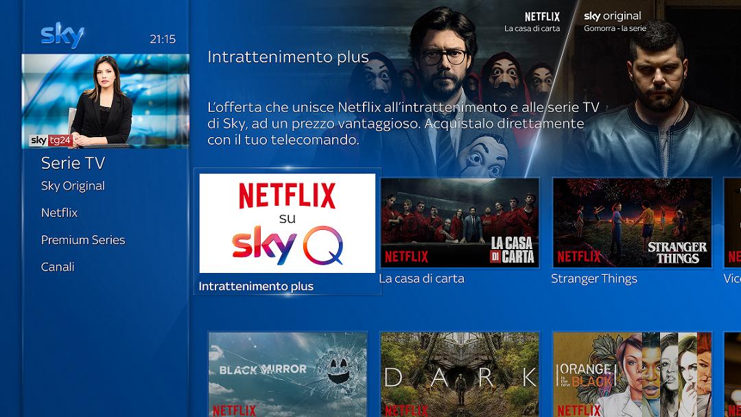 Sky e Netflix: da ottobre al via la partnership per l'intrattenimento thumbnail
