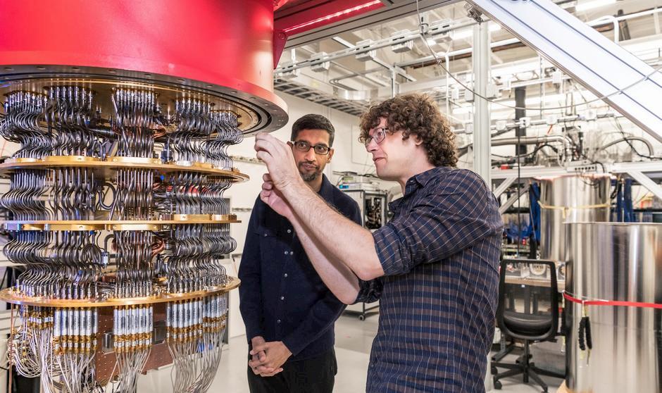Google sostiene di aver raggiunto la supremazia quantistica thumbnail