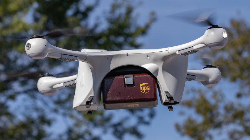 UPS riceve l'autorizzazione alla sua flotta di Droni thumbnail