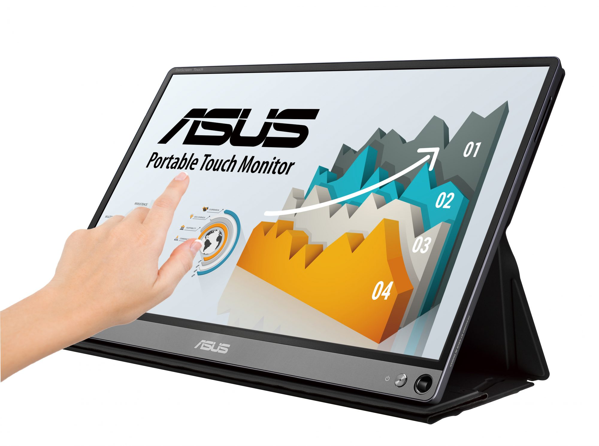 ASUS ZenScreen Touch: il monitor touch portatile è disponibile in Italia thumbnail