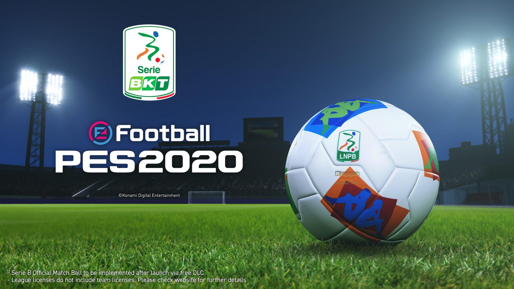 eFootball PES 2020: la serie B e altre novità nel Data Pack 2.0 gratuito thumbnail