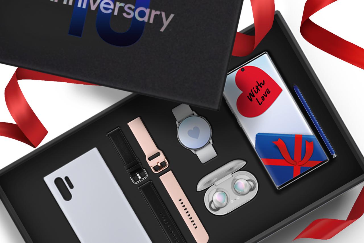 Samsung Galaxy Celebration Box: la proposta di Natale di Samsung thumbnail