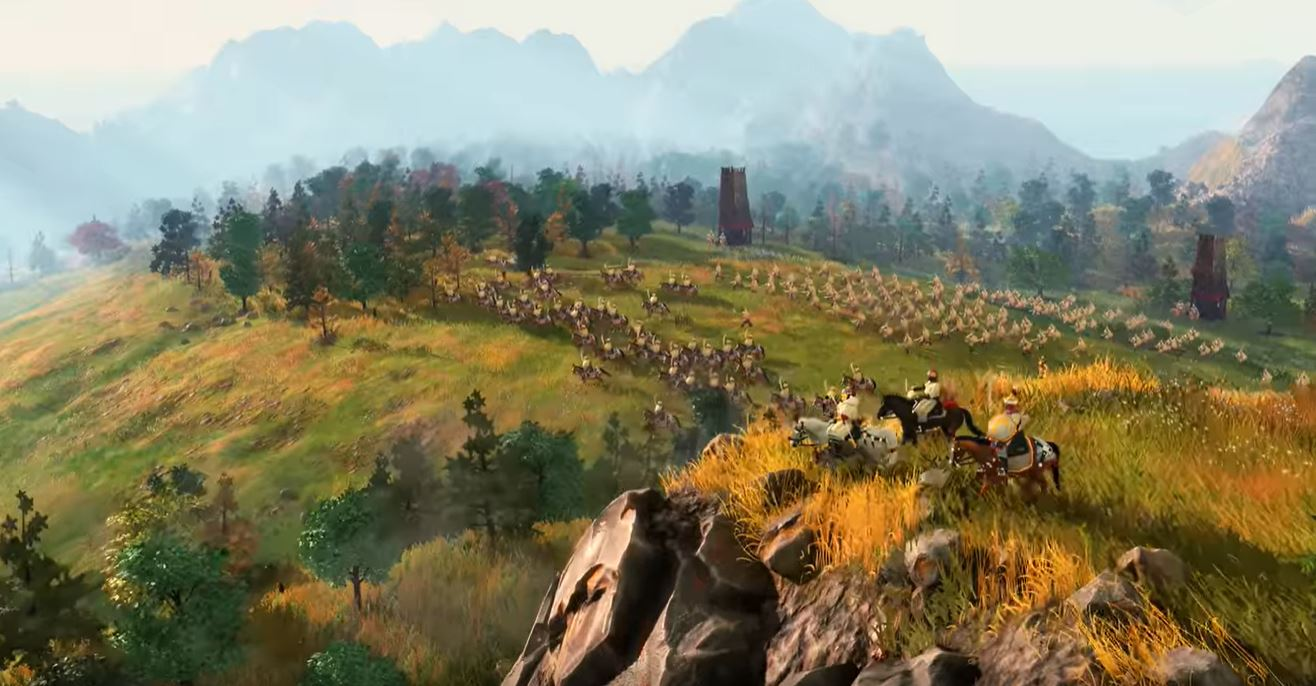 Age of Empires 4 si mostra nel primo gameplay trailer thumbnail