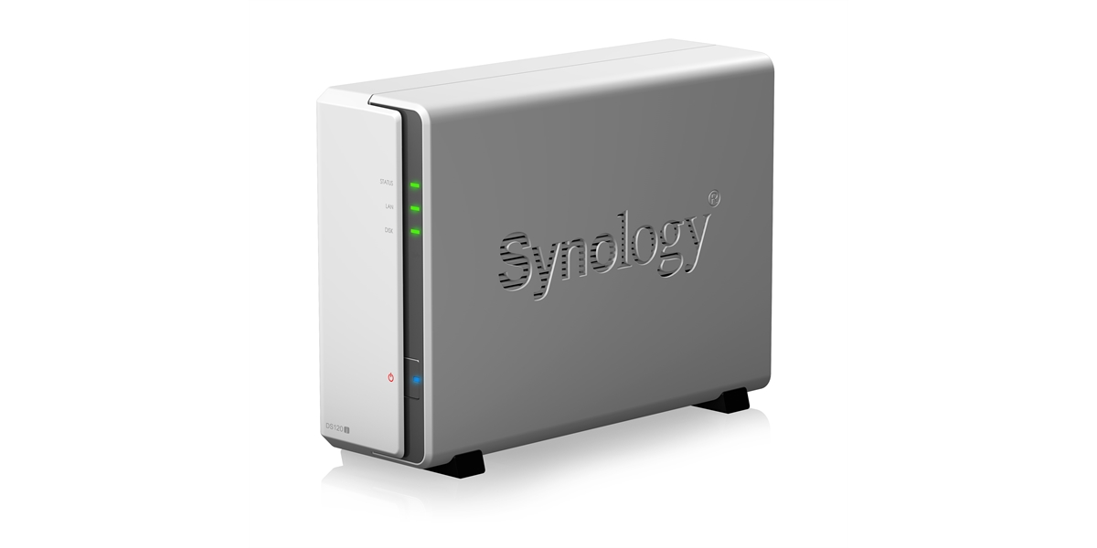 """Synology DiskStation DS120j: il NAS """"personale"""" per backup e condivisione thumbnail"""