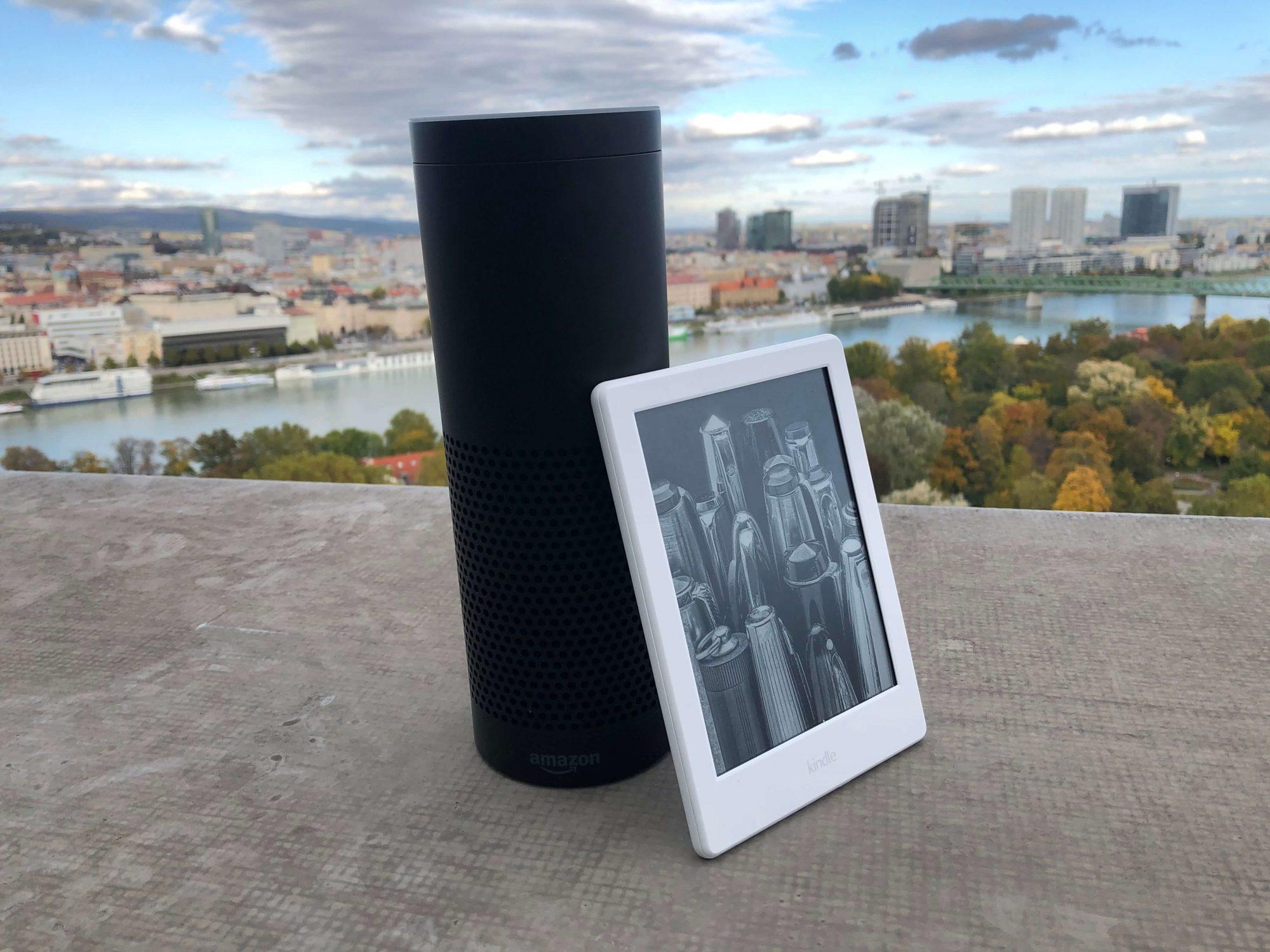 Amazon Echo e Kindle