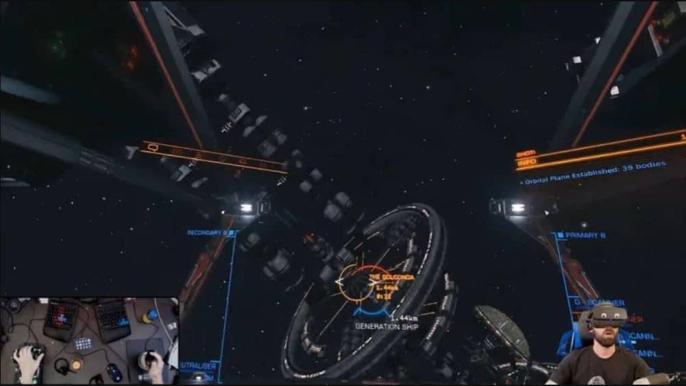 Elite Dangerous: un giocatore scopre una nave piena di umani infetti thumbnail