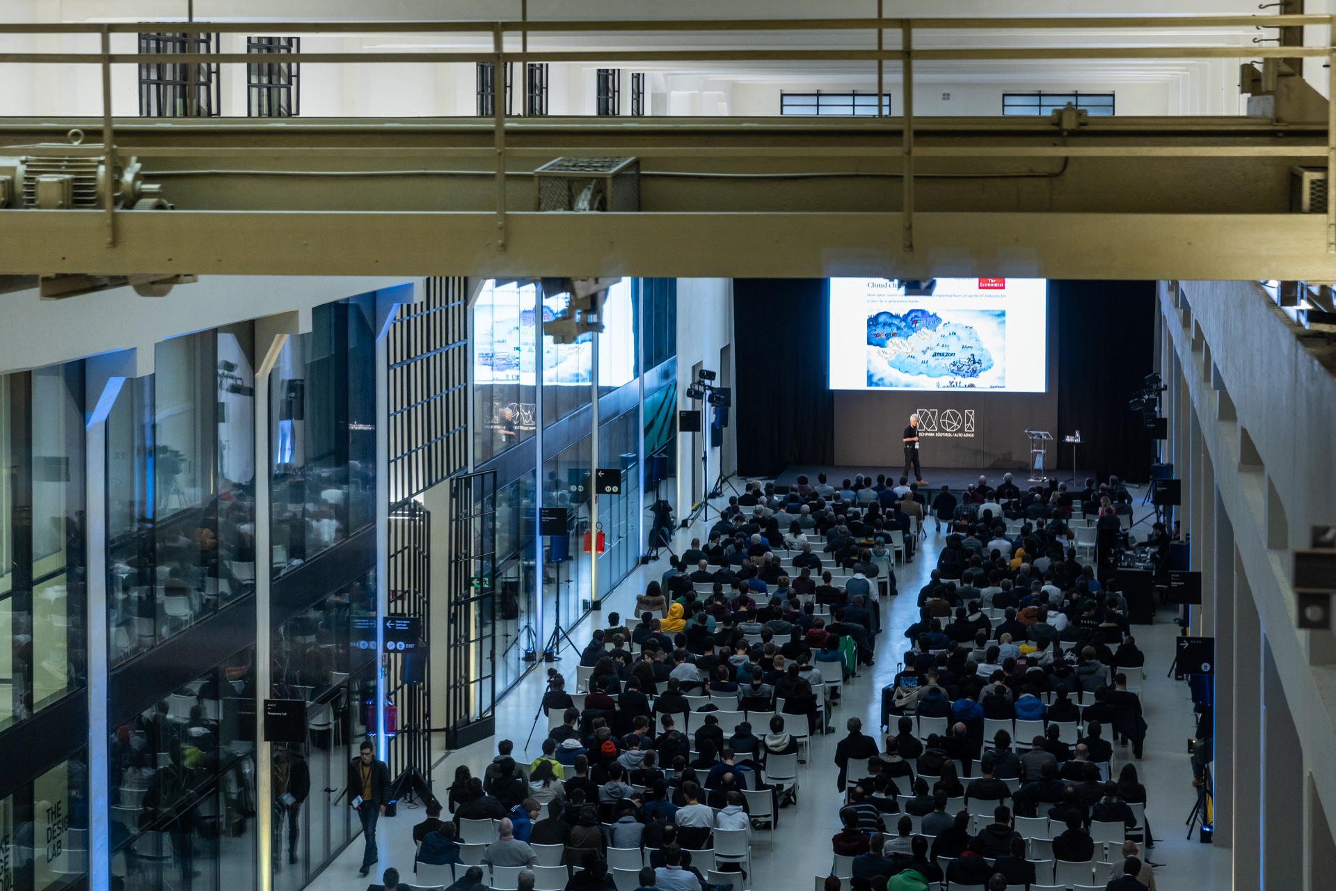 NOI Techpark SFScon: la prima giornata si apre a Bolzano thumbnail
