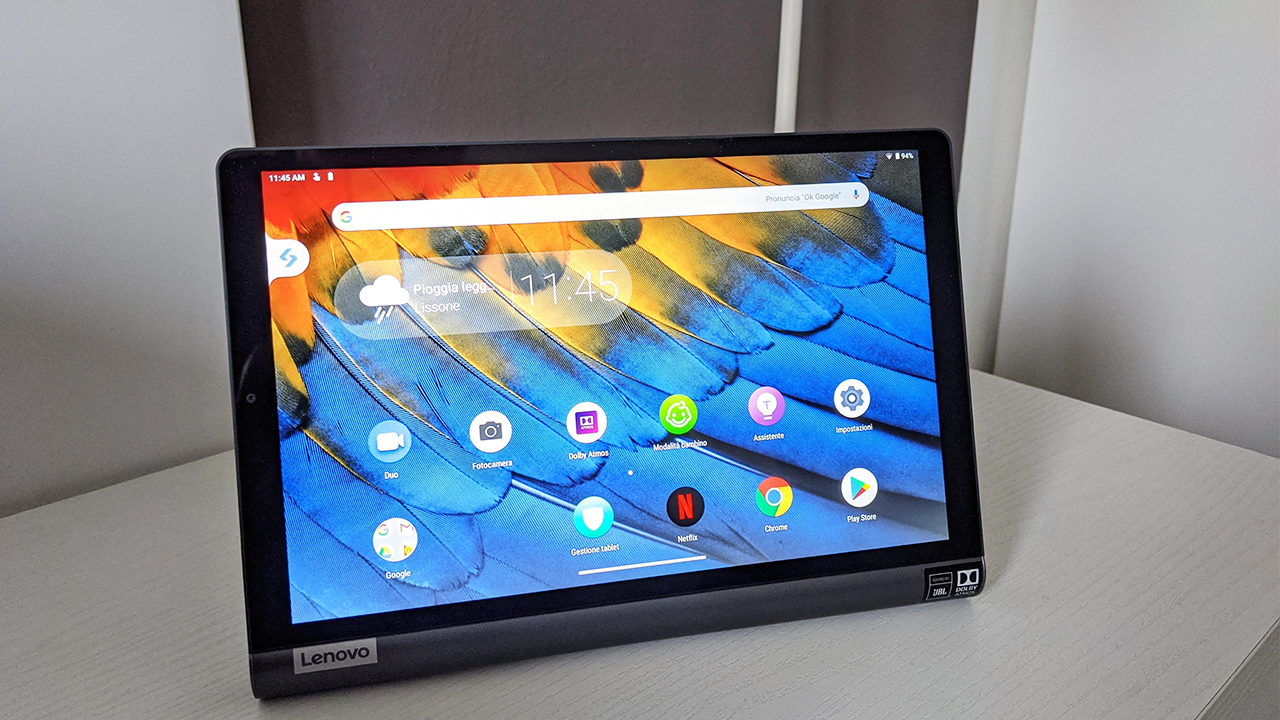 Lenovo Yoga Smart Tab recensione: il tablet per l'intrattenimento thumbnail