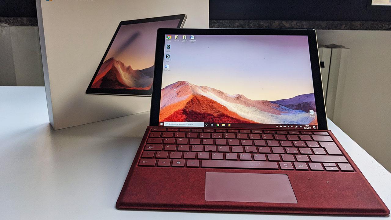 Surface Pro 7 recensione: il miglior convertibile? thumbnail