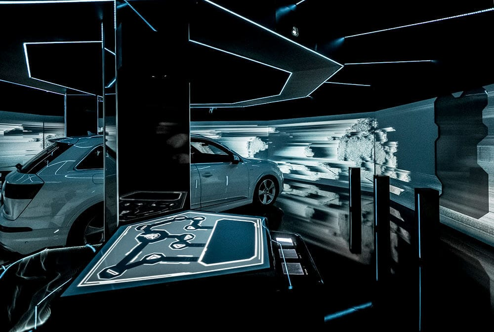 "Audi presenta ""e-tron room"": la nuova escape room con hyper-reality thumbnail"