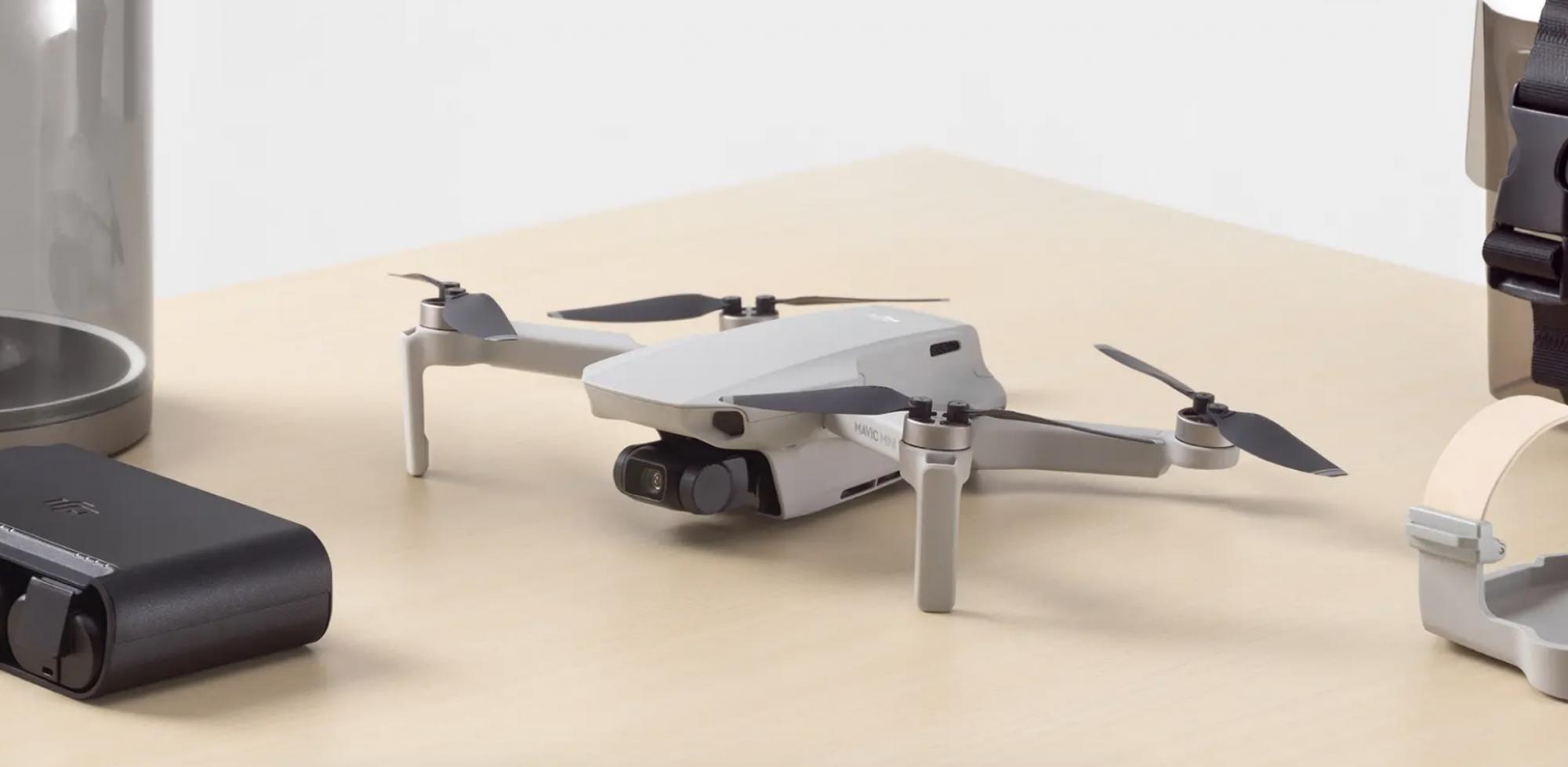 DJI Mavic Mini ufficiale: il drone più compatto e leggero thumbnail
