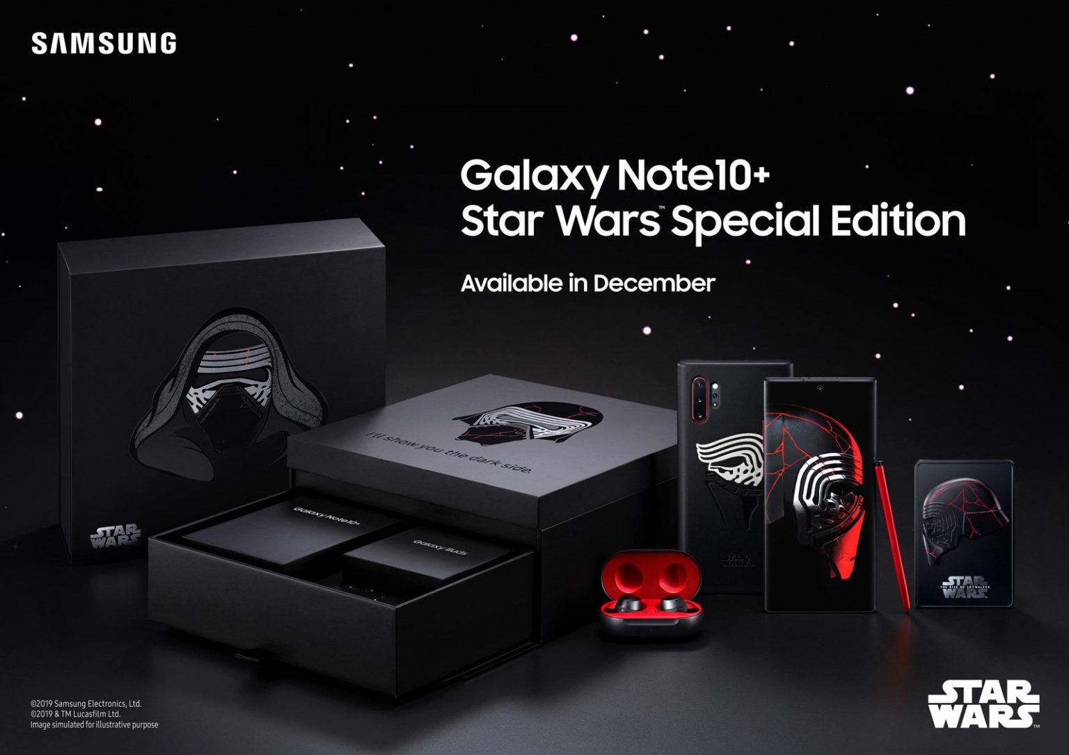 Samsung passa al lato oscuro della forza: ecco Galaxy Note 10+  Star Wars Special Edition thumbnail