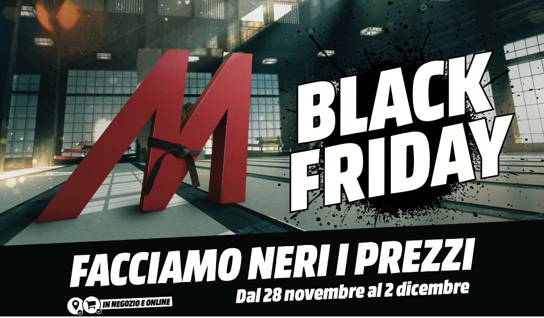 "Mediaworld ""fa neri i prezzi"" in occasione del Black Friday thumbnail"