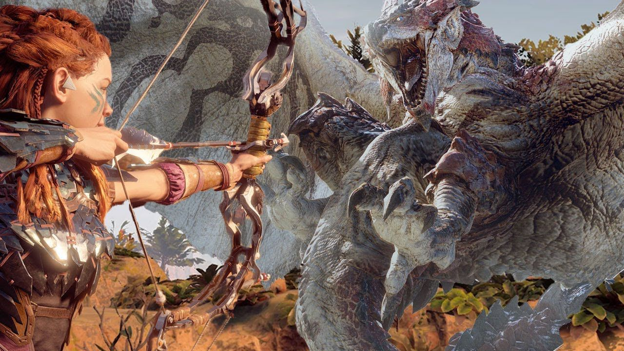 Monster Hunter World: a breve il crossover con Horizon Zero Dawn thumbnail