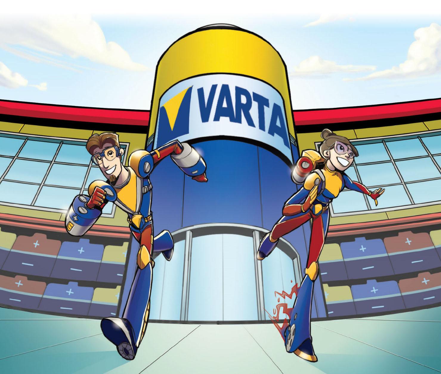 Varta presenta 'I Vartakidz - Salviamo l'ambiente pila per pila' thumbnail
